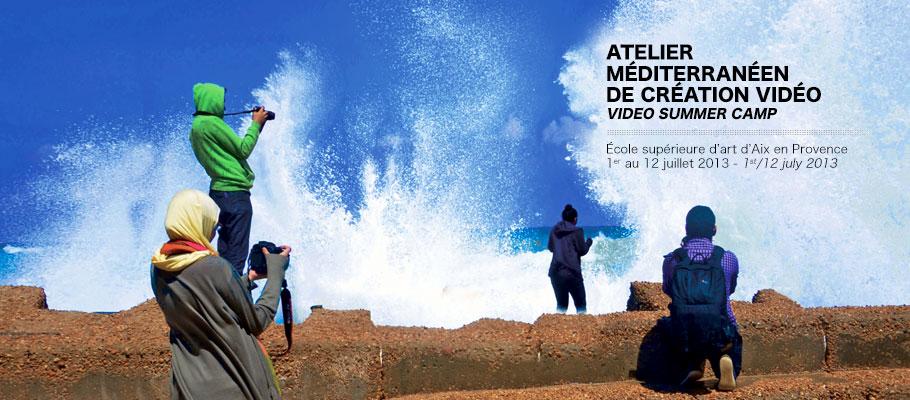 Atelier méditerranéen de création vidéo