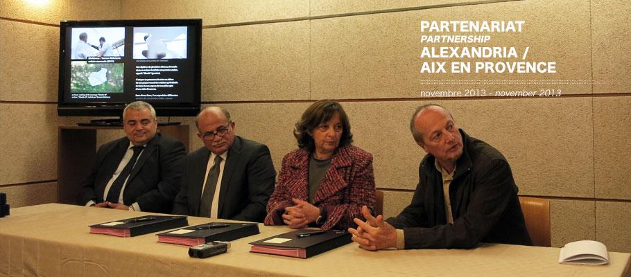 Partenariat Alexandria / Aix